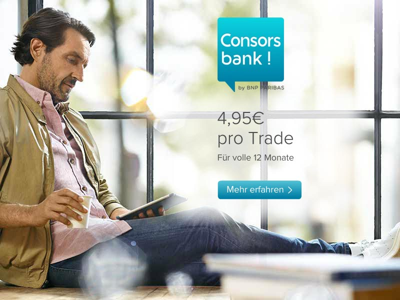 Consors Trader Konto